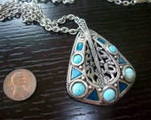 Antique Pewter Miracle Necklace