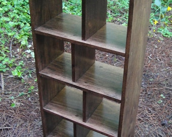 "Bookcase Hardwood 16"" Wide Open Back"