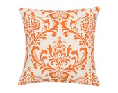 SWEET POTATO Pillow Cover.Decorator Pillow Cover.Home Decor.Large Print.DAMASK.Cushions. Cushion.Pillow. Premier Prints