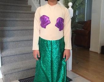 Green Mermaid costume