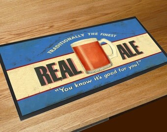 Martin Wiscombe Real Ale Traditionally The Finest Beer bar runner