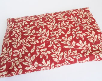 Red Leaf~ Theraputic Heat Pack for The Microwave or Cold Pack for the Freezer ~ Good for Joint Pain and Arthritis 9x6