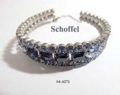 FREE SHIP Schoffel of Austria Blue Bracelet (4-4271)