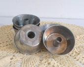Miniature Angel Food Pans, Jello Molds Mini Baking Tins Bundt Cake Pans Set of 6