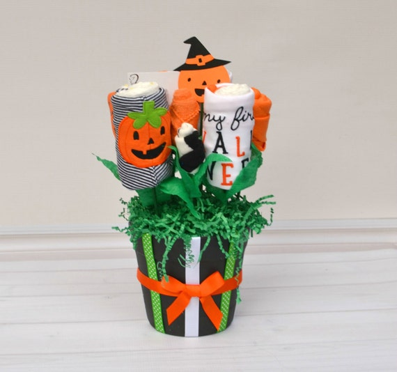 Baby Gifts For Halloween : Halloween baby gift outfit s by