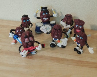 California Raisins Band 8 pc CALRAB
