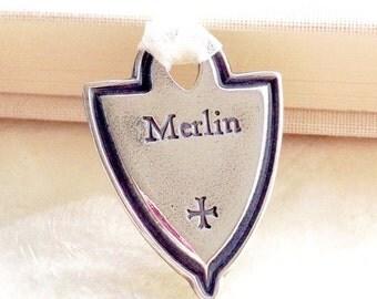 Pet Memorial Keepsake Pendant of Fine Silver - Eco Friendly Recycled/Reclaimed Silver - Custom