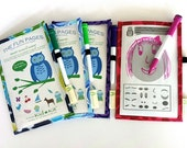 Dry-Erase Smart Sleeve Set , The Fun Pages- Kids' Super Fun Activity/Travel Game, Party Favor, Kids Stocking Stuffer