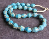 Contemporary King Bicone Beads from African Trade