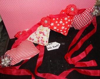 Shabby - Puffy Hearts Banner