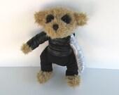 Bucky Bear Winter Soldier, altered bear stuffed toy