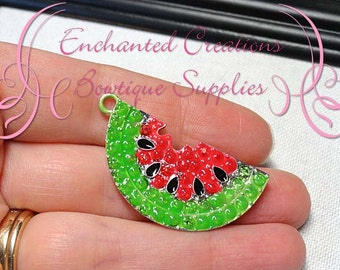 "2"" Red Summer Watermelon Pendant"