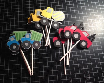 Rugged Truck Cupcake toppers