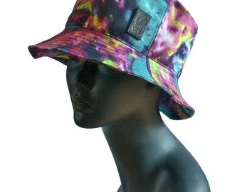 Color Splash Printed Bucket Hat