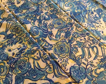 Lilly Lion fabric