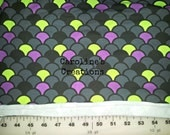 CUSTOM Purple Scales Cotton Knit (T-Shirt)