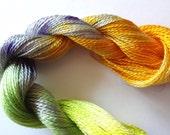 Stella D' Oro Hand Dyed Tencel Thread Size 8