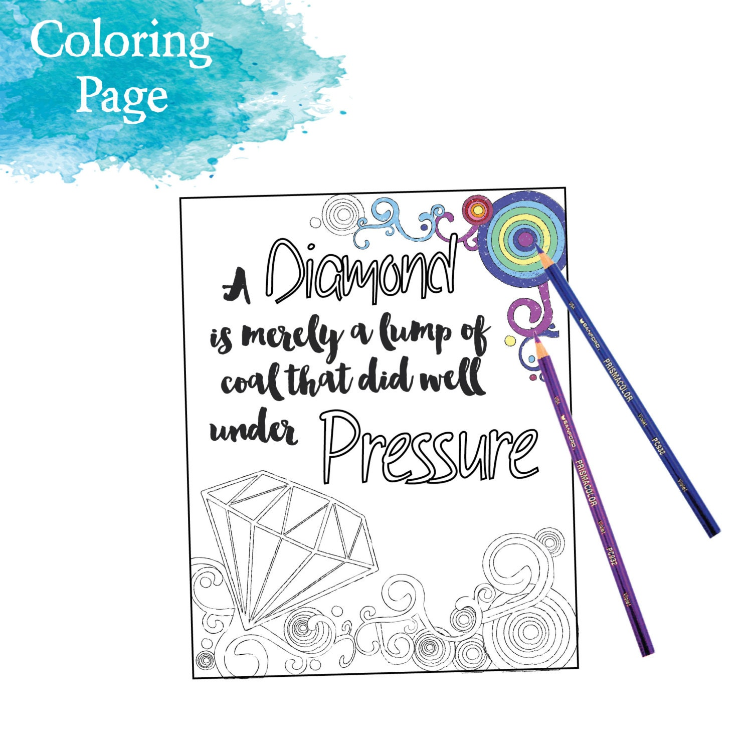 inspirational coloring page printable 11 dance in the rain