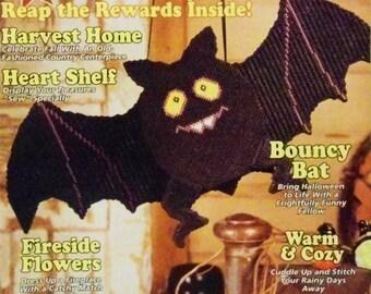 Plastic Canvas Magazine Sep/Oct 1995 Halloween/Fall