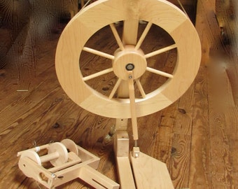 Reserved  sold to Soarmilk Used Lendrum ST Spinning Wheel - Complete