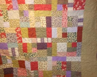 Queen Size Quilt Flannel 113