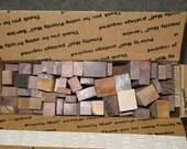Exotic Wood Scraps, Miscellaneous species