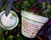 Pet Sympathy Gift - Painted Flower Pots - Pet Memorial Gift - Cat Sympathy - Dog Sympathy - Pet Memorial Planter