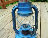 Vintage Dietz No.2 D-Lite Lantern With Clear Glass