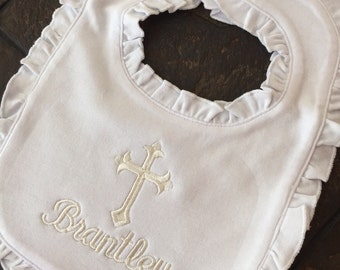 Baptism or Christening Bib