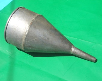 Industrial Large Galvanized Funnel
