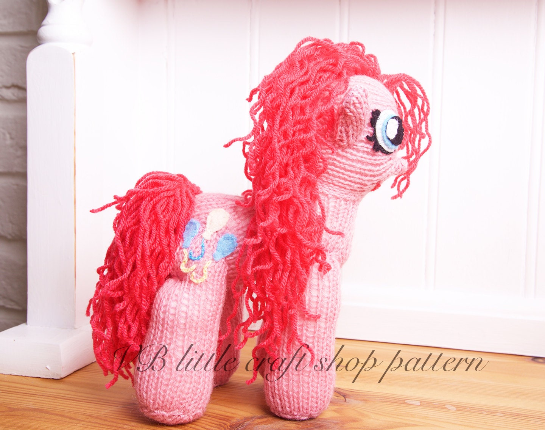 My little pony Pinkie pie knitting pattern.