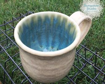 Coffee Mug in Handmade, Pottery Mug, Gift for Coffee Lover