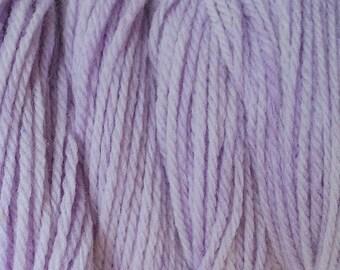 Purple Wind Worsted Weight Hand Dyed Merino Wool Yarn