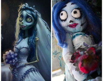 Corpse Bride Art Doll