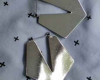 Geometric Vintage Earrings