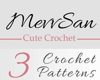 Any 3 Crochet Patterns