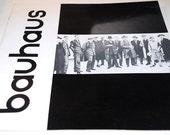BAUHAUS Walter Gropius 1961 Book - Deadstock - MINT condition - Collectors Item - 1st Edition - Rare