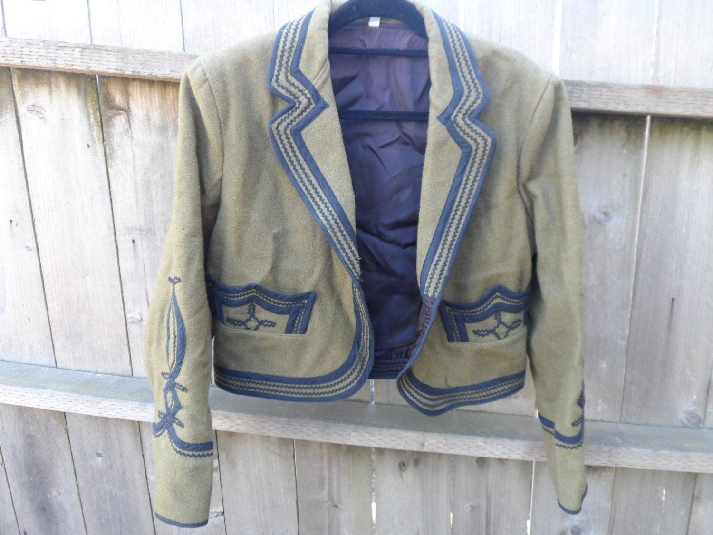 Vintage Mariachi Matador Jacket Men Size 40 Mexican Mexico