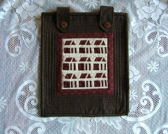 Little Red Schoolhouses Wall Hanging (Item #80)