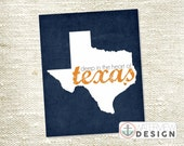 Texas Printable - Deep in the Heart of Texas