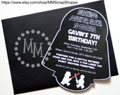Star Wars Custom PRINTABLE Birthday Invitation