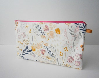 fabric zippered  large case