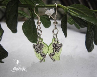 The Fairy Forest Leaf earrings