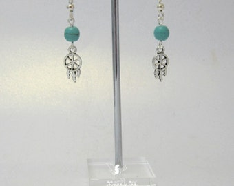 Dreamcatcher Earrings inspired by native american mythology