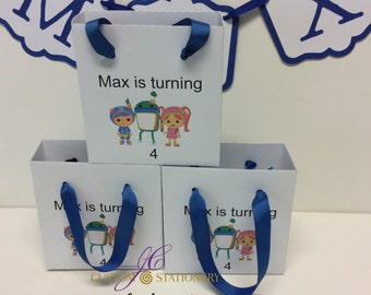 Character gift bag/ favor bag (5)
