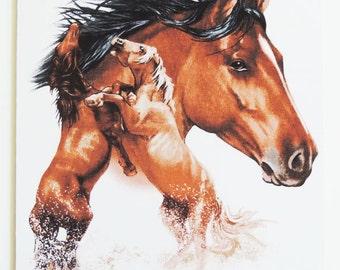 Mustang Horse Mousepad
