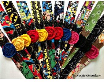 Super Hero Headwrap Cosplay Comic Marvel Inspired Geek Trekkie Science Nerd Bat Man Super Woman Spider Man Comic Con Wonder Woman
