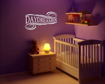 Daydreamer Wall Quote Sayings Words Lettering Removable Dreaming Wall Decal
