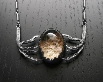 SALE - Winds of Winter OOAK Necklace - Lodolite