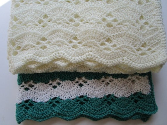 Crochet Baby Blanket Patterns Easy Free : Easy Crochet Blanket Pattern Fan Stitch Crochet by ...